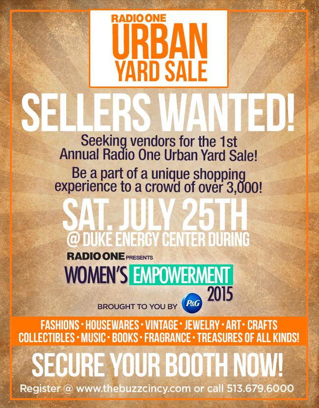 Urban Yardsale poster WE 2015