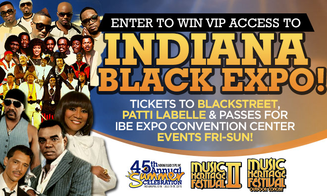 The Indiana Black Expo sweepstakes