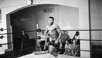 Cassius Clay Training