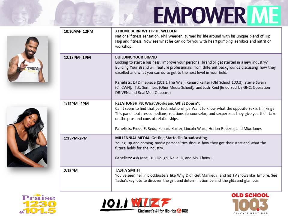 empower me schedule 2