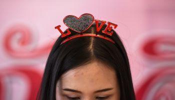 THAILAND-VALENTINES-DAY