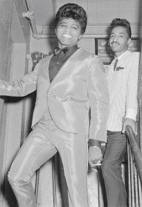 James Brown Backstage At The Apollo