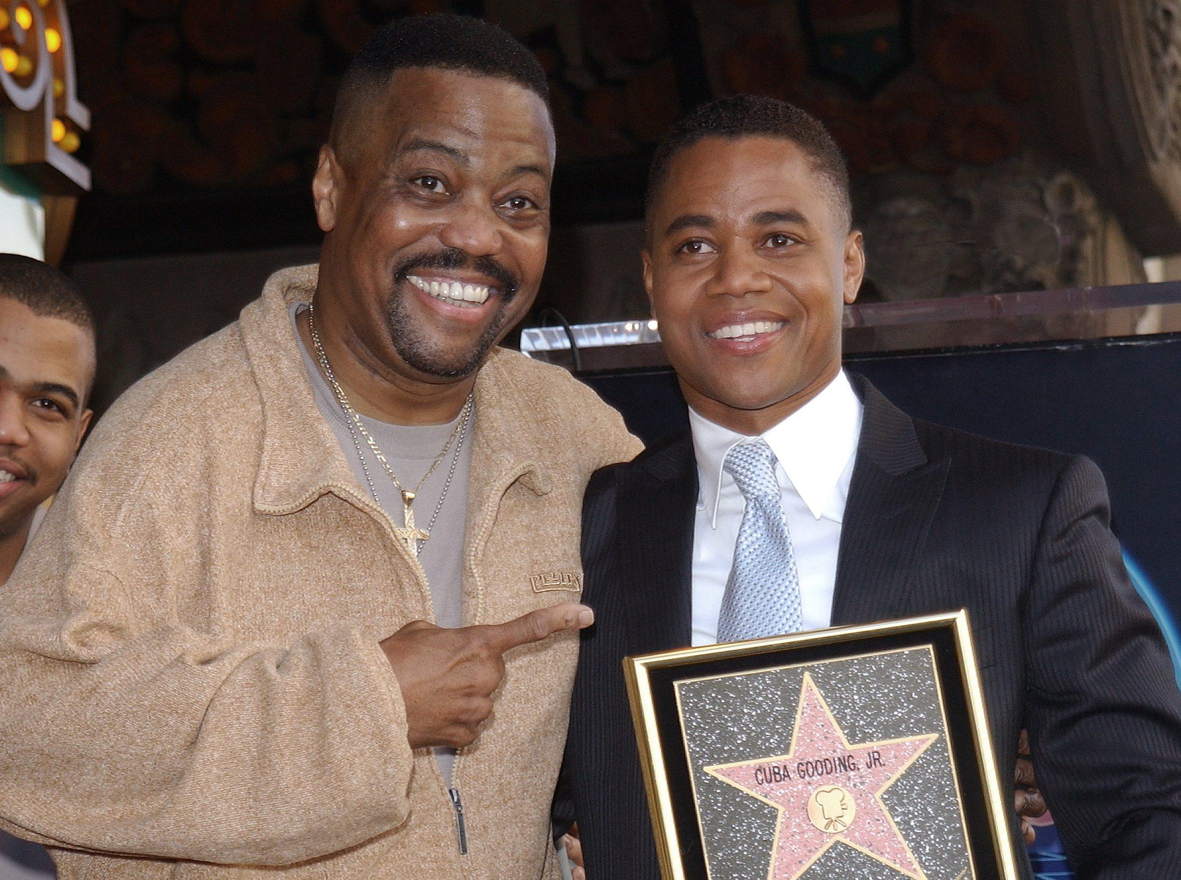 Cuba Gooding Jr. Gets Hollywood Star