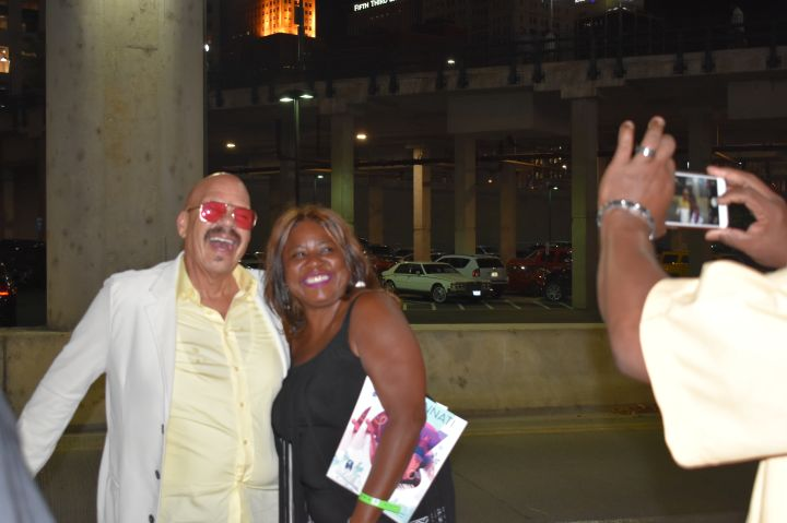 Tom Joyner at the Cincinnati Music Festival