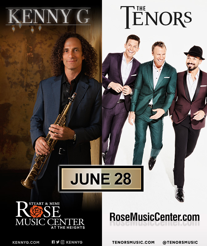 KENNY G & THE TENORS | 101.5 Soul
