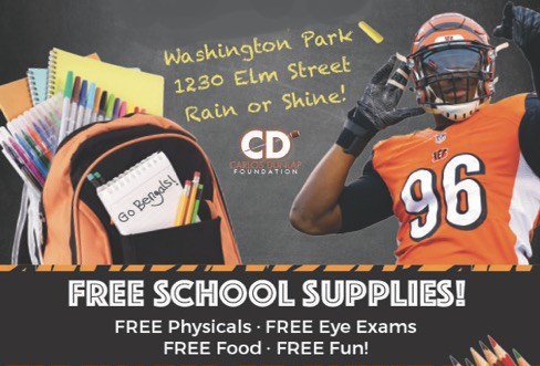 The BOOTSY COLLINS FOUNDATION BACK TO SCHOOL SUNDAY FUNDAY event graphic