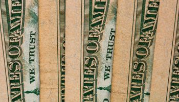 Full Frame Shot Of American Paper Currency