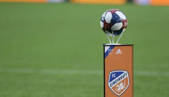 SOCCER: APR 19 MLS - Real Salt Lake at FC Cincinnati