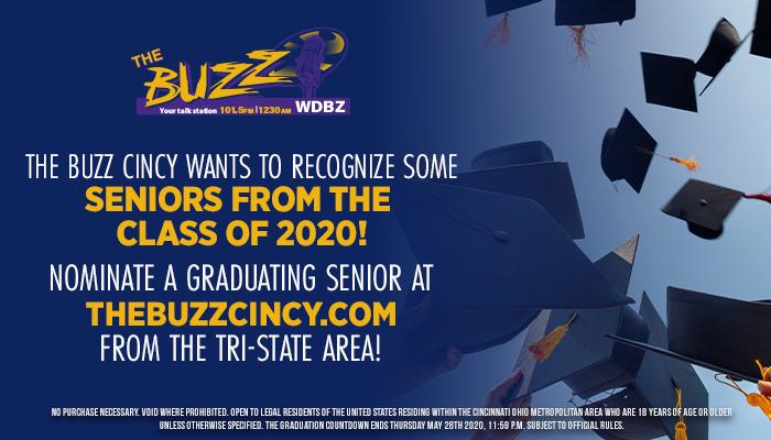 Nominate a 2020 graduate graphics Cincinnati